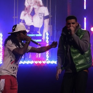 "Drake Hints ""The Throne"" Belongs To Him & Lil Wayne"