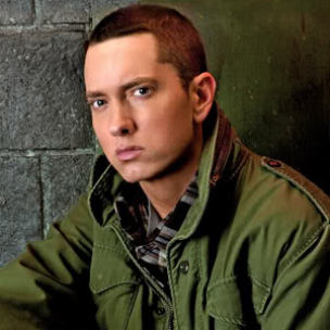 Eminem Wears Alcoholics Anonymous Necklace, Drops F-Bomb At Grammys