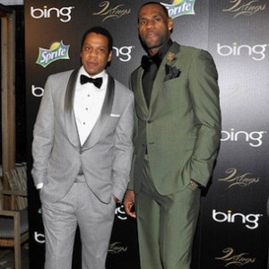 Jay-Z & LeBron James Talk Making A Difference