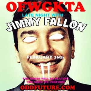 """Odd Future To Appear On """"Late Night With Jimmy Fallon,"""" The Roots Backing"""