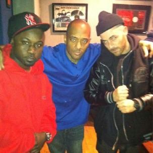 Havoc, Prodigy And Alchemist At Work In The Studio