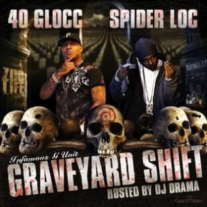 "Spider Loc & 40 Glocc Talk ""Graveyard Shift"" Release, Status Of Crips & Bloods"
