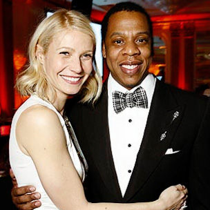 Jay-Z and Gwyneth Paltrow Talk Hip Hop
