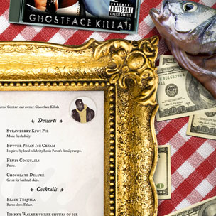 Infographic - HipHopDX Visits Ghostface Killah's New Restaurant