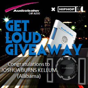 """Get Loud Giveaway"" with Audiobahn Car Audio & HHDX"