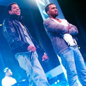 Kanye West Brings Out Jay-Z at MoMA