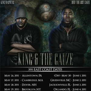 Reef The Lost Cauze & King Magnetic Announce 2011 East Coast Tour