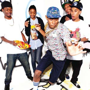 Chris Brown & Odd Future Squash Beef Over Twitter