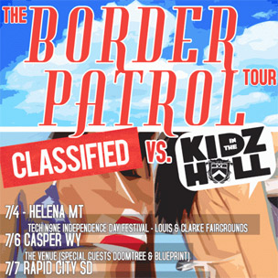 "Kidz In The Hall & Classified Team Up For ""The Border Patrol"" Tour"