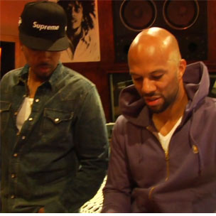 "Common & Nas - The Making of ""Ghetto Dreams"""
