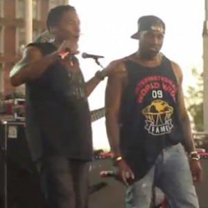 "Q-Tip f. Kanye West - ""Award Tour [Brooklyn Hip Hop Festival Performance]"""