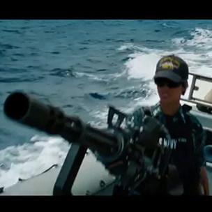 "Rihanna Makes Acting Debut In ""Battleship,"" Trailer Released"