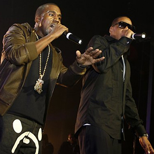 "Jay-Z & Kanye West Reach Gold Status With ""Watch The Throne"""