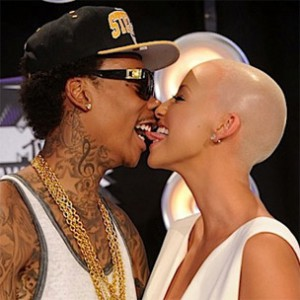 Wiz Khalifa & Amber Rose Working On Music Together