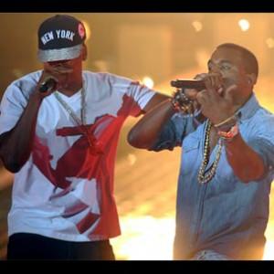 """Jay-Z & Kanye West  - Recording """"Otis"""""""