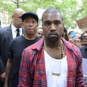 Kanye West & Russell Simmons Lend Support To Occupy Wall Street Protestors