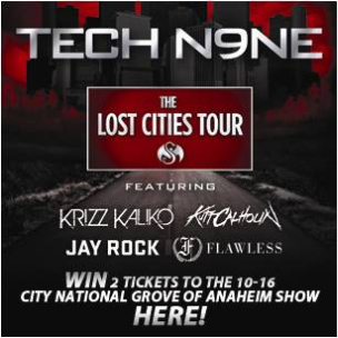 "Tech N9ne x HipHopDX ""Ticket Giveaway"""