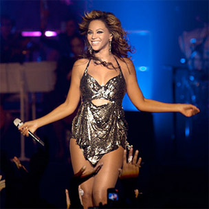 "Beyonce Releases ""Live At Roseland"" DVD Stream"