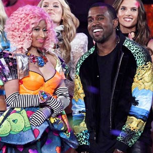Jay-Z, Kanye West And Nicki Minaj Headline Victoria's Secret Fashion Show Performances