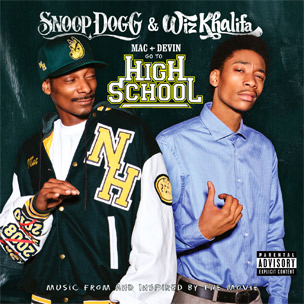 "Wiz Khalifa & Snoop Dogg Enlist Juicy J, Curren$y & More For ""Mac & Devin Go To High School"" Soundtrack"