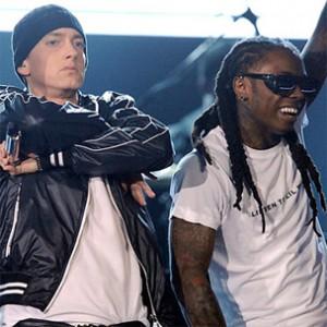 "Eminem & Lil Wayne Perform ""No Love"" In Sydney, Australia"