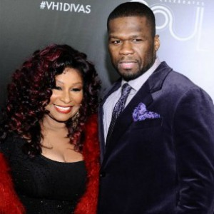 50 Cent And Legendary Singer Chaka Khan Working On Project Together
