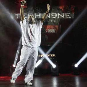 "Tech N9ne Performs ""The Noose"" For U.S. Troops Live For The First Time"