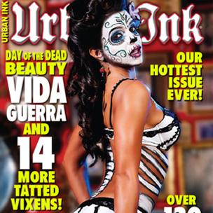 Vida Guerra Covers Urban Ink Magazine | HipHopDX