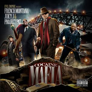 French Montana, Juicy J & Project Pat - Cocaine Mafia (Mixtape Review)