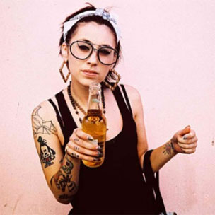 Kreayshawn Explains Falling Out With Lil B