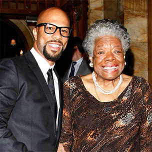 "Common & Maya Angelou Settle Differences On ""106 & Park"""