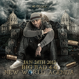 "40 Glocc Enlists Prodigy, Chamillionaire & More For ""New World Agenda"""