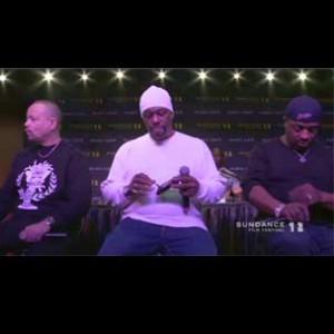 Ice-T, Chuck D & Grandmaster Caz - Sundance Film Festival Interview/Performance