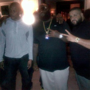 """Rick Ross Calls Working With Dr. Dre """"Amazing"""""""