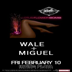 Wale & Miguel Ticket Giveaway