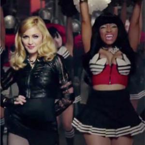 "Madonna f. Nicki Minaj & M.I.A. - ""Give Me All Your Luvin'"""