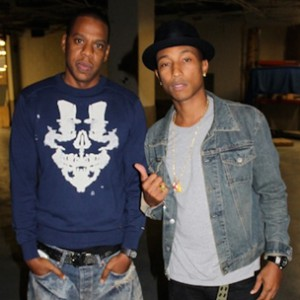 Pharrell Williams Hints At Project With Jay-Z
