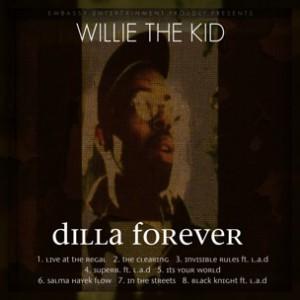Willie The Kid f. LA The Darkman - Black Knight [Prod. J Dilla]