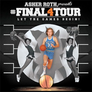 "Asher Roth Announces ""Final Four"" Tour Dates"