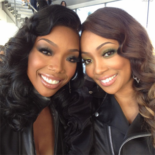 "Brandy & Monica Perform ""It All Belongs To Me"" On ""The Tonight Show With Jay Leno"""