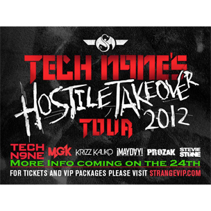 "Tech N9ne Announces ""Hostile Takeover Tour 2012"" Dates"