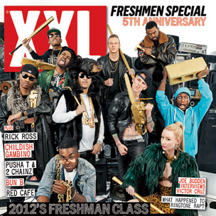 French Montana, Iggy Azalea, Future & More Cover XXL Magazine's Freshman 2012 Issue