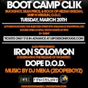 Boot Camp Clik Ticket Giveaway