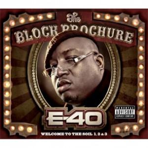 """E-40 """"The Block Brochure"""" Cover Art, Tracklist"""