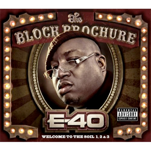 "E-40 ""The Block Brochure"" Cover Art, Tracklist"
