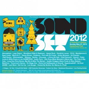 Kendrick Lamar, Lupe Fiasco, Ghostface Killah & More To Perform At 2012 Soundset Festival