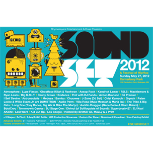 Kendrick Lamar, Lupe Fiasco, Ghostface Killah & More To Perform At 2012 Soundset Festival