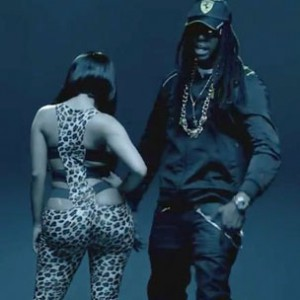"Nicki Minaj f. 2 Chainz - ""Beez In The Trap"""