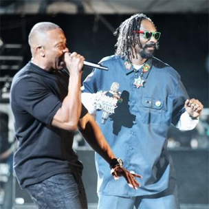 Dr. Dre & Snoop Dogg Perform With Tupac Hologram At Coachella 2012