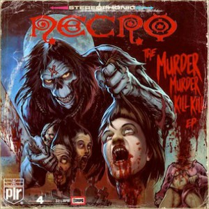 "Necro ""Murder Murder Kill Kill"" 2EP Tracklist & Artwork"